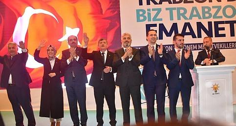 AK Parti Trabzon adaylarını tanıttı