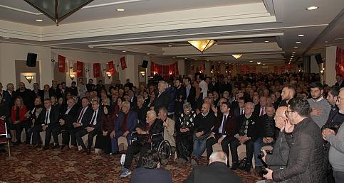 CHP Ortahisar Aday Tanıtım Toplantısı'nda İzdiham