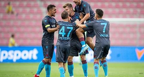 Trabzonspor - Sparta Prag maçının foto öyküsü