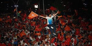 Darbe girişiminin ardından Trabzon