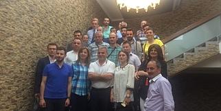 Nihat Usta Salacık Şubede Trabzon Basınıyla Buluştu