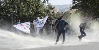 ODTÜ'de 'Kobani' eylemi