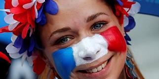 Portekiz-Fransa maçı öncesinde fotoğraflar