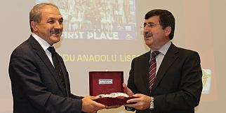 Trabzon Gazeteciler Cemiyeti Ödül Töreninden Kareler