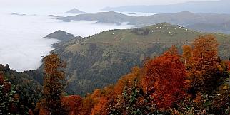 Trabzon'da sonbahar