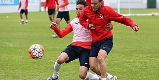 Trabzonspor antrenmanından kareler