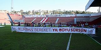 Trabzonspor-Osmanlıspor karşılaşmasında kareler