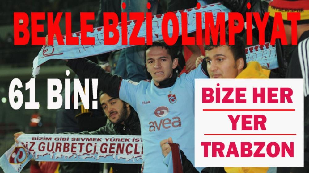 Trabzonspor yıldönümünde Olimpiyat rekoru kıracak