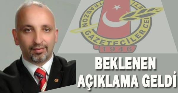 TGC'DEN BEKLENEN AÇIKLAMA GELDİ