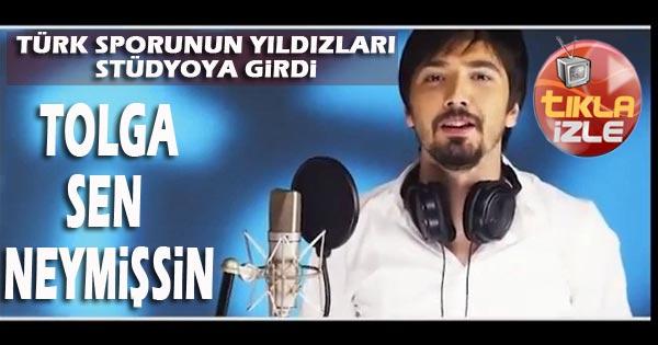 TOLGA STÜDYODA-SEN NEYMİŞSİN BE TOLGA...