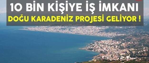 Arsin'de 10 bin kişiye iş imkanı