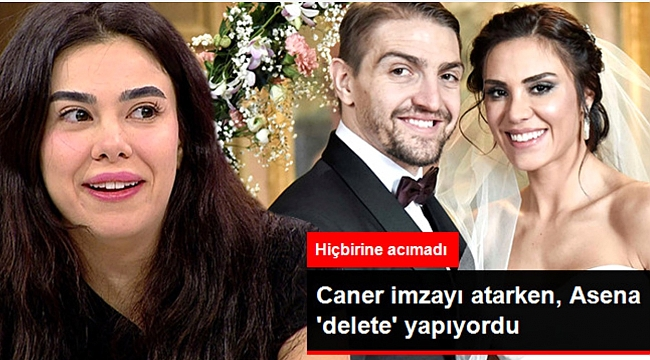 Caner ile Şükran evliliği Asena Atalay'ı çileden çıkardı