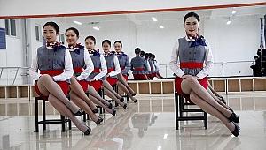 Çin'de hostes olmak için ahtapot testi