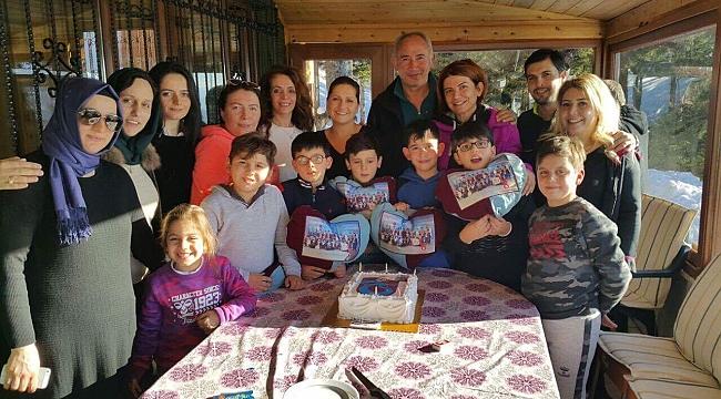 Minik Ataman'a yaylada yaşgünü