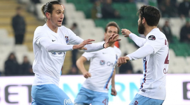 Trabzonspor ideal kadroyla maça çıkacak