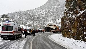 Trabzonlu Bulut Gümüşhane'de feci kazada hayatını kaybetti