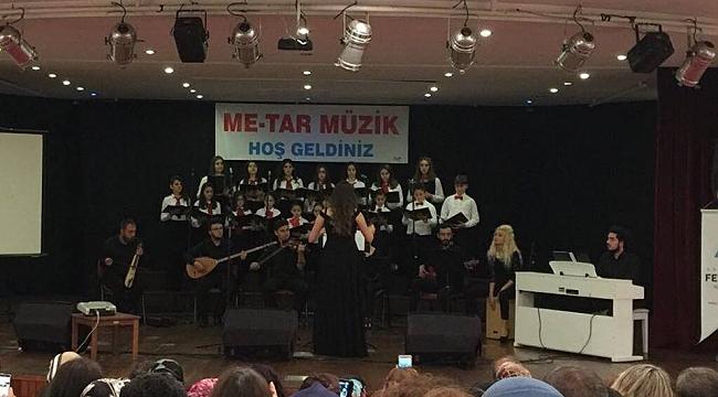 Me-Tar Müzik öğrencilerinin konseri büyüledi