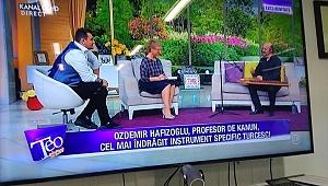 Özdemir Hafızoğlu ,dünya televizyonlarında Türk Müziğini tanıttı