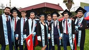KTÜ 50. dönem mezunlarını verdi