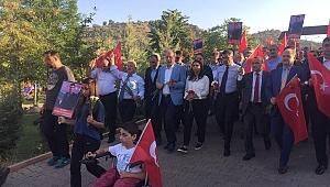CHP şehit öğretmen için yürüdü
