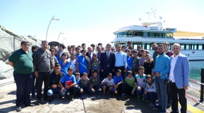 Güneydoğulu öğrenciler Trabzon'da ağırlandı