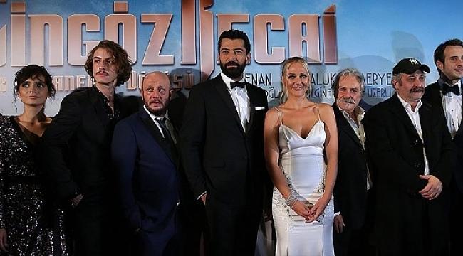 'Cingöz Recai' filminin galası yapıldı