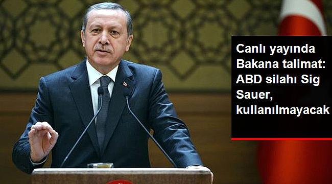Erdoğan'dan canlı yayında Soylu'ya talimat