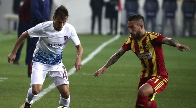 Evkur Yeni Malatyaspor-Trabzonspor maç sonucu: 1-0