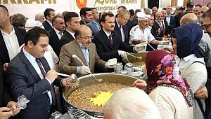 Trabzon'da Cumhurbaşkanlığı'ndan Aşure İkramı