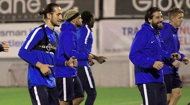 Trabzonspor 3 eksikle çalıştı