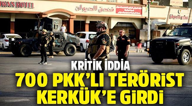 Türkmenlerin başkanı: 700 PKK'lı Kerkük'e girdi