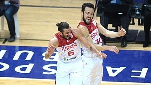 A Milli Basketbol Takımımız, Letonya'yı 85-73 Mağlup Etti