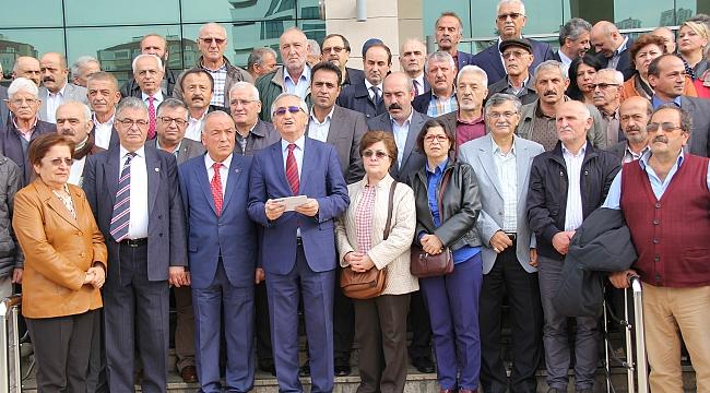 CHP Trabzon örgütü haksızlığa karşı ayağa kalktı