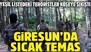 Giresun'da PKK'lılarla çatışma: Takviye geldi