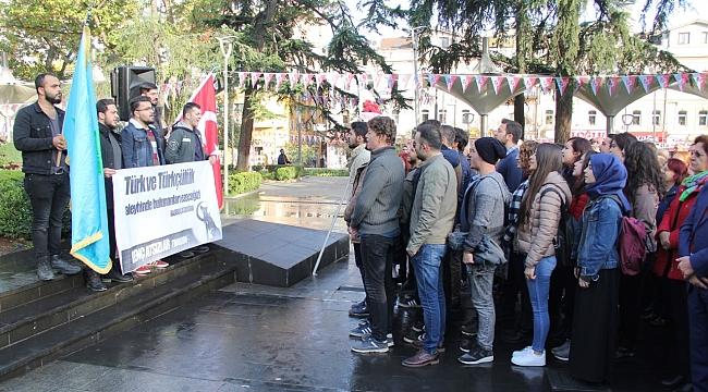 Trabzon'da Atatürk ölümünün 79. yılında törenlerle anıldı