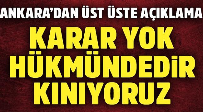 Ankara'dan çok sert İsrail açıklamaları