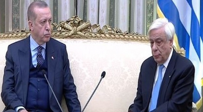 Erdoğan- Pavlopulos zirvesinde Lozan gerilimi