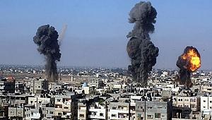 İsrail ordusu Gazze'yi yine vurdu