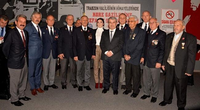 Trabzon'da Kore gazileri Ayla filmini izledi