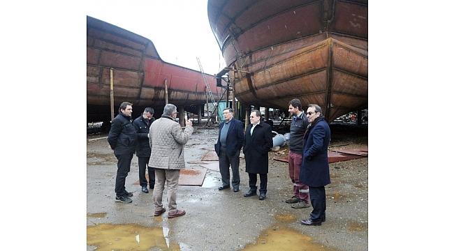 Karadeniz'de Gemi İmalatı Dünya Standartlarında