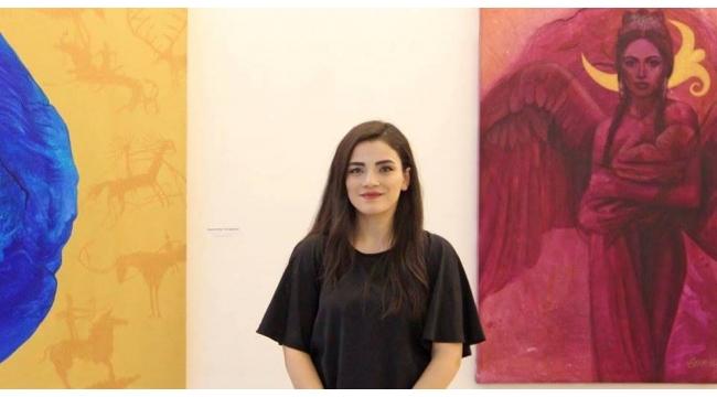 Trabzonlu genç ressamın muhteşem sergisi
