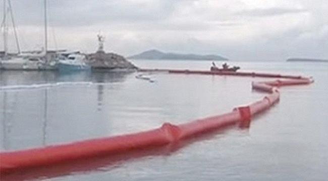 Urla Limanı kapatıldı