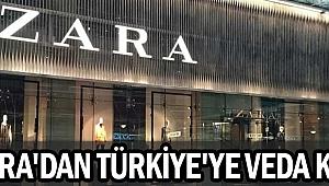 Zara Türkiye'den çekiliyor