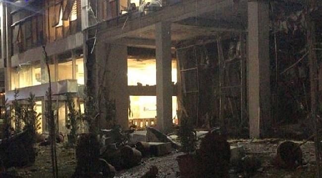 Ankara Çukurambar'da kazan dairesi patladı!
