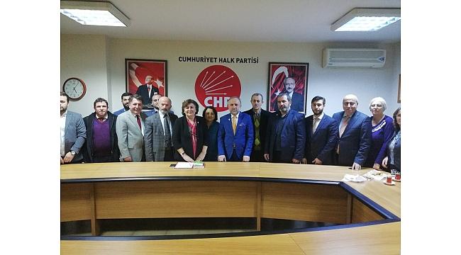 Saadet Partisi CHP'yi ziyaret etti