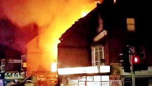 Son Dakika! İngiltere'nin Leicester Şehrinde Patlama!