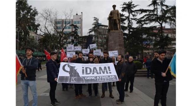 Trabzon'da idam için yürüdüler