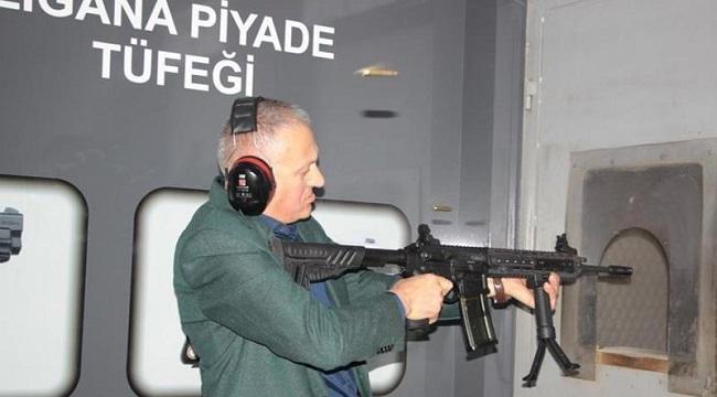 Trabzon'da üretilen tüfek için 6 ülke devreye girdi