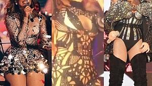 Hadise'nin kıyafetleri birebir aynı