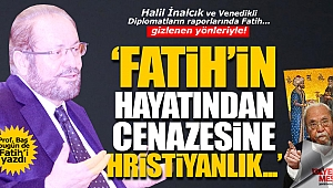 Haydar Baş'tan, Fatih'le ilgili inanılmaz iddialar